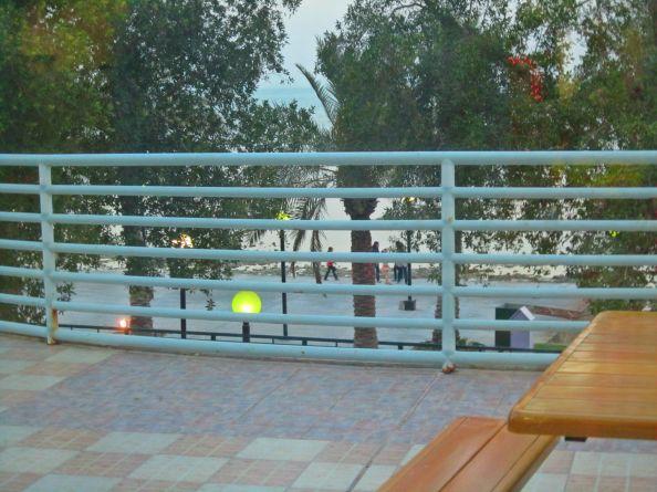 veranda barrier