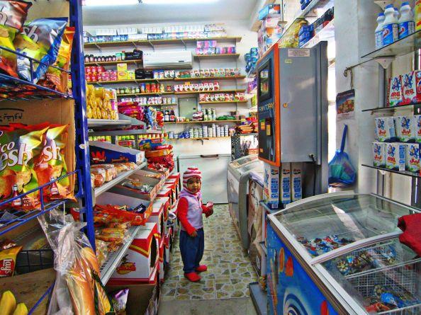 baqala (retail store) aisle